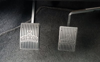 Dual pedals